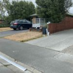 Keyby driveway ramps can even be installed onto uneven ground. Here's a driveway ramp in the older part of Rolleston, Selwyn spanning over a crack in the concrete