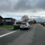Heres x2 3m length sections of KERBY an Aluminum driveway ramp on the left driveway versus x2 1.5m lengths - yes we can cut driveway ramps to size/length - in a modern subdivision situated in Rolleston Selwyn. Installed by XDC.nz